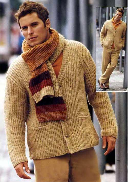 шарфы спицами - вязание для малышей и. вязаные
