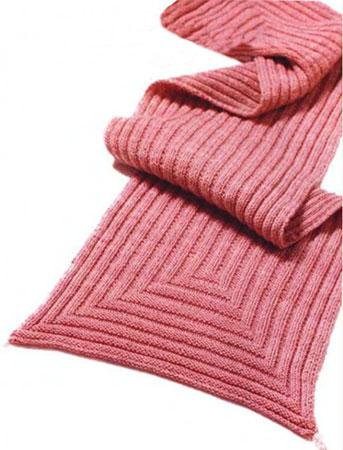 Геометрический шарф