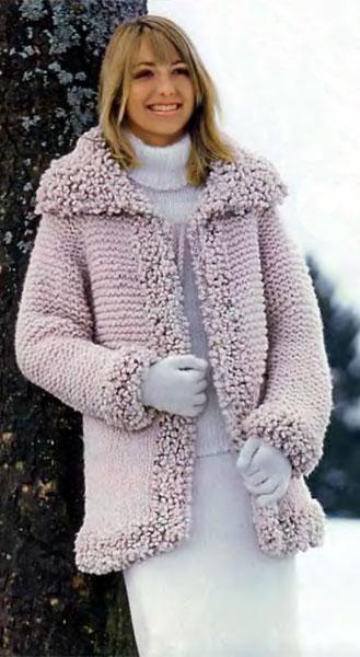 Связать модную кофточку для девочки