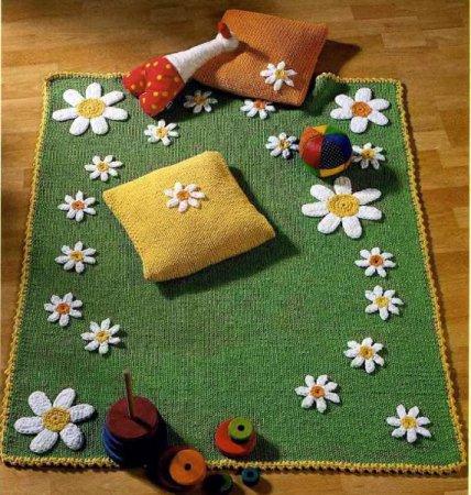 вязаные подушки, вяжу сама крючком подушку, вязание ковриков спицами, вязание спицами подушки схемы, плетем коврики...
