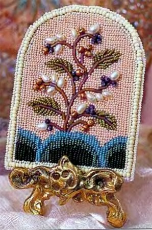 Вышивка бисером Жемчужное дерево