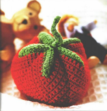 Мячик-помидор