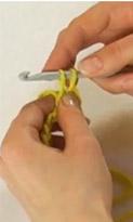 Полустолбик с накидом и вытянутой петлёй