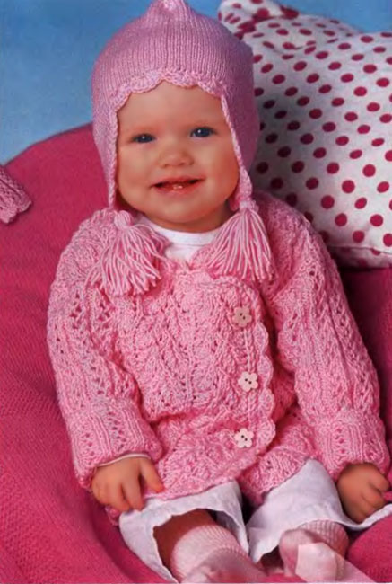 Вязание для детей, крючком и спицами, много моделей с описанием и схемами. . Свяжите красивую одежду вашему