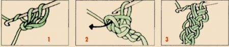 Безрукавка из шнура