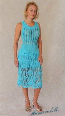 Платье по мотивам Escada Sport Summer