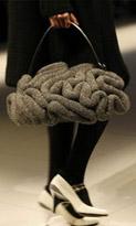 Мода на вязаные сумки осень-зима 2009