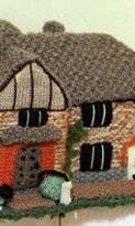 Вязаные домики