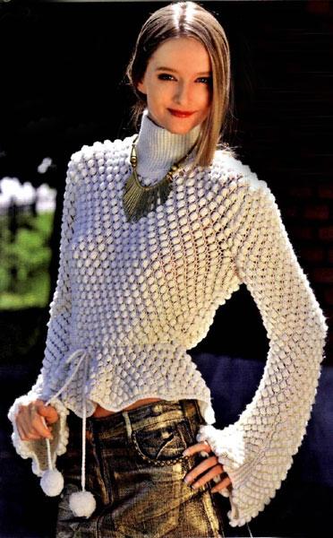 Для вязания свитера вам потребуется