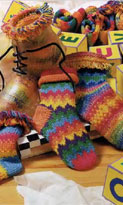 Носки в стиле «хиппи»