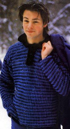схемы джемпера, свитера, кофты вязаного спицами, женский свитер спицами.