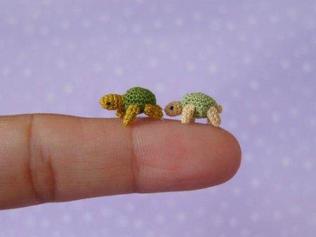 Самые маленькие вязаные игрушки