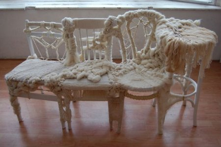 Вязаная мебель