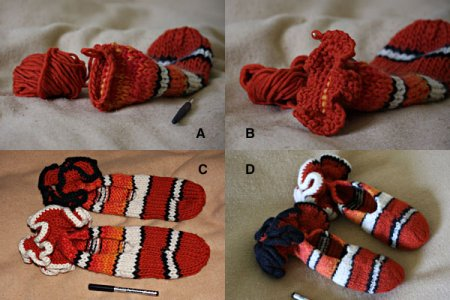 Пинетки рыбы-клоуны для новорожденных