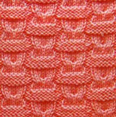 Вязание спицами узор из кос.