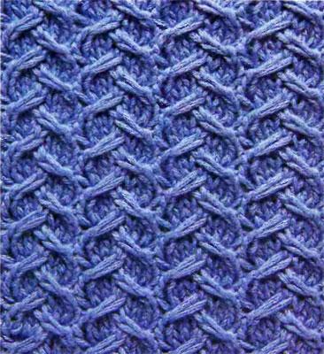 Узоры вязания спицами. Часть 1