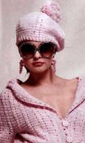 Описание: схемы вязания крючком беретов летних. модные вязаные шапки для.