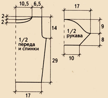 Кофта с капюшоном связана спицами 5. Вязаная кофта схема .