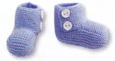 вязание для малышей пинетки спицами | Описание