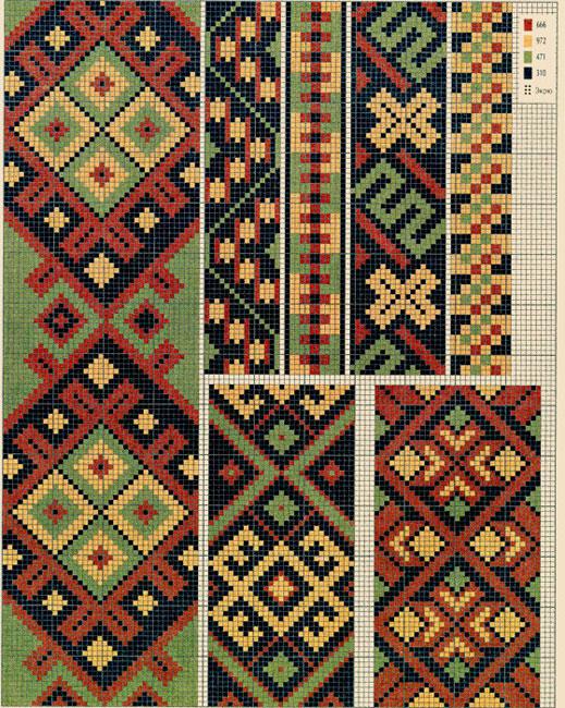 Каталог схем для вышивки крестом - бесплатно вышивка