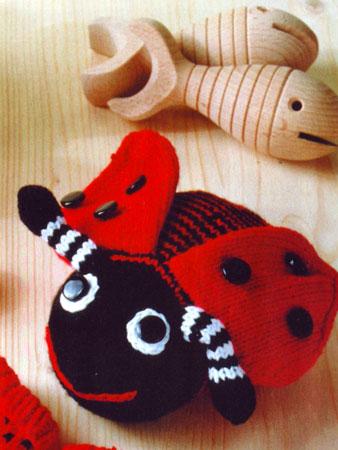 Божьи коровки, связанные крючком - Вязаные игрушки - Схемы 30
