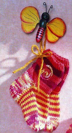 Вязание носочков