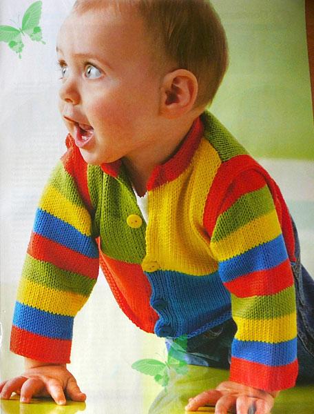 Вязание на спицах мальчику 1 2 года