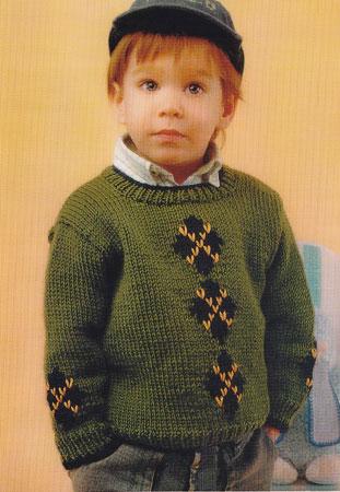 Для вязания свитера
