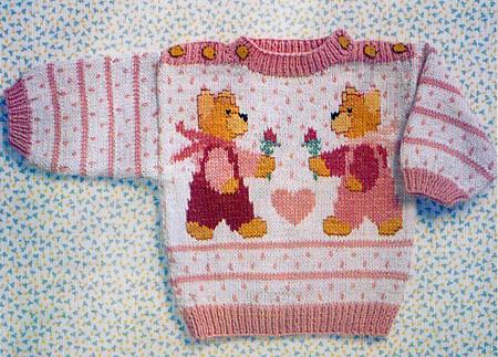 вязание детского свитера