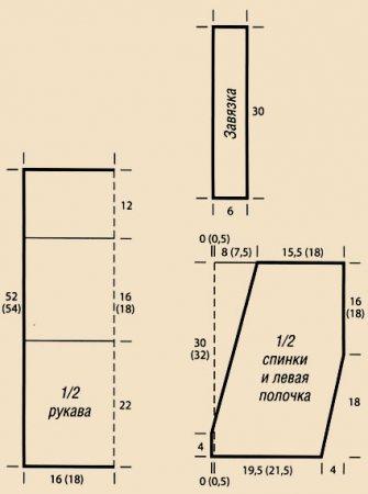 Цветное вязание крючком со схемами