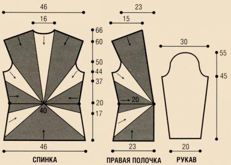 Вязание женского жилета