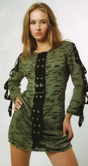 Вязанные платья, фото