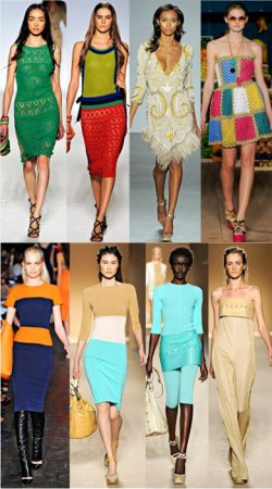 Модные веяния сезона весна-лето 2012