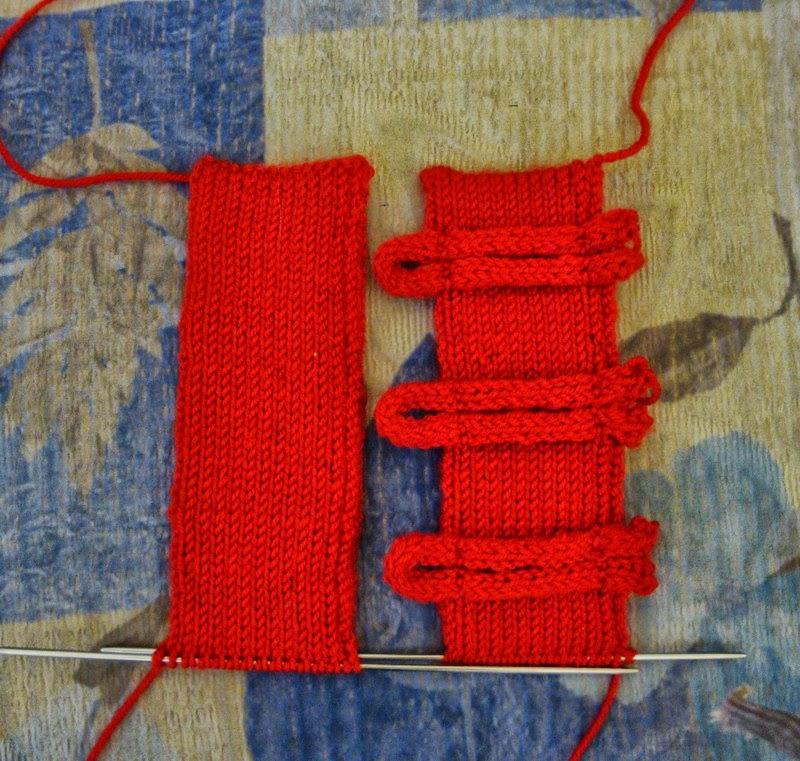 вязка застёжки детского свитера