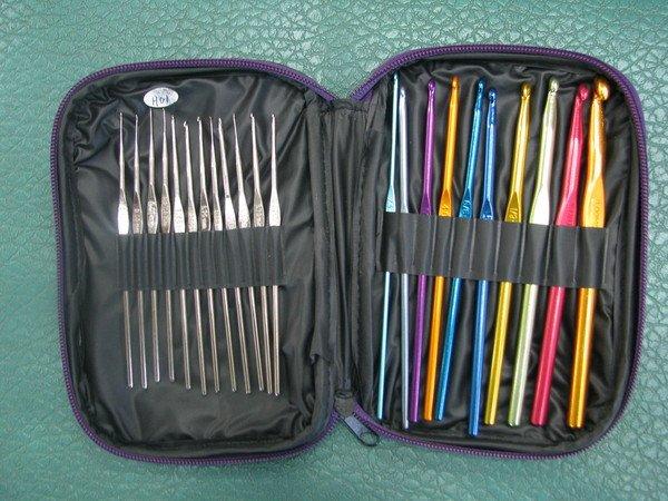 портативные наборы для вязания спицами