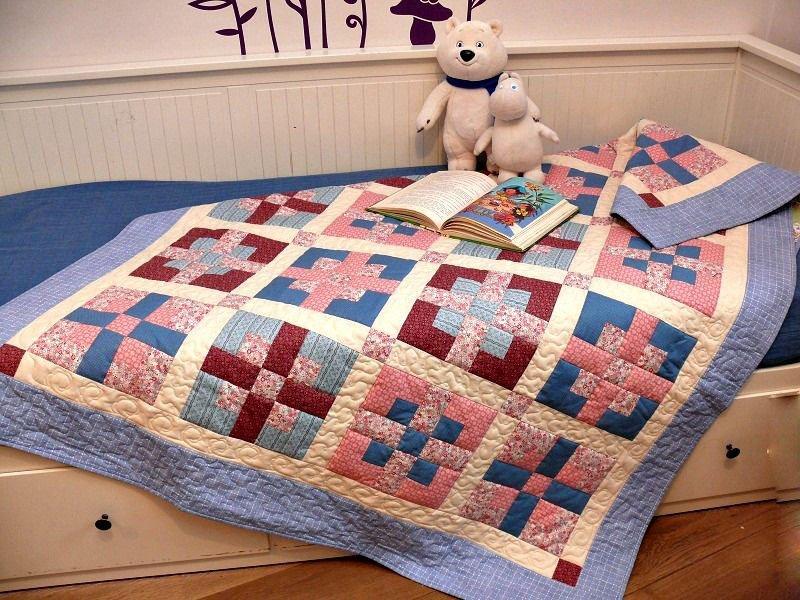 лоскутное одеяло в детскую