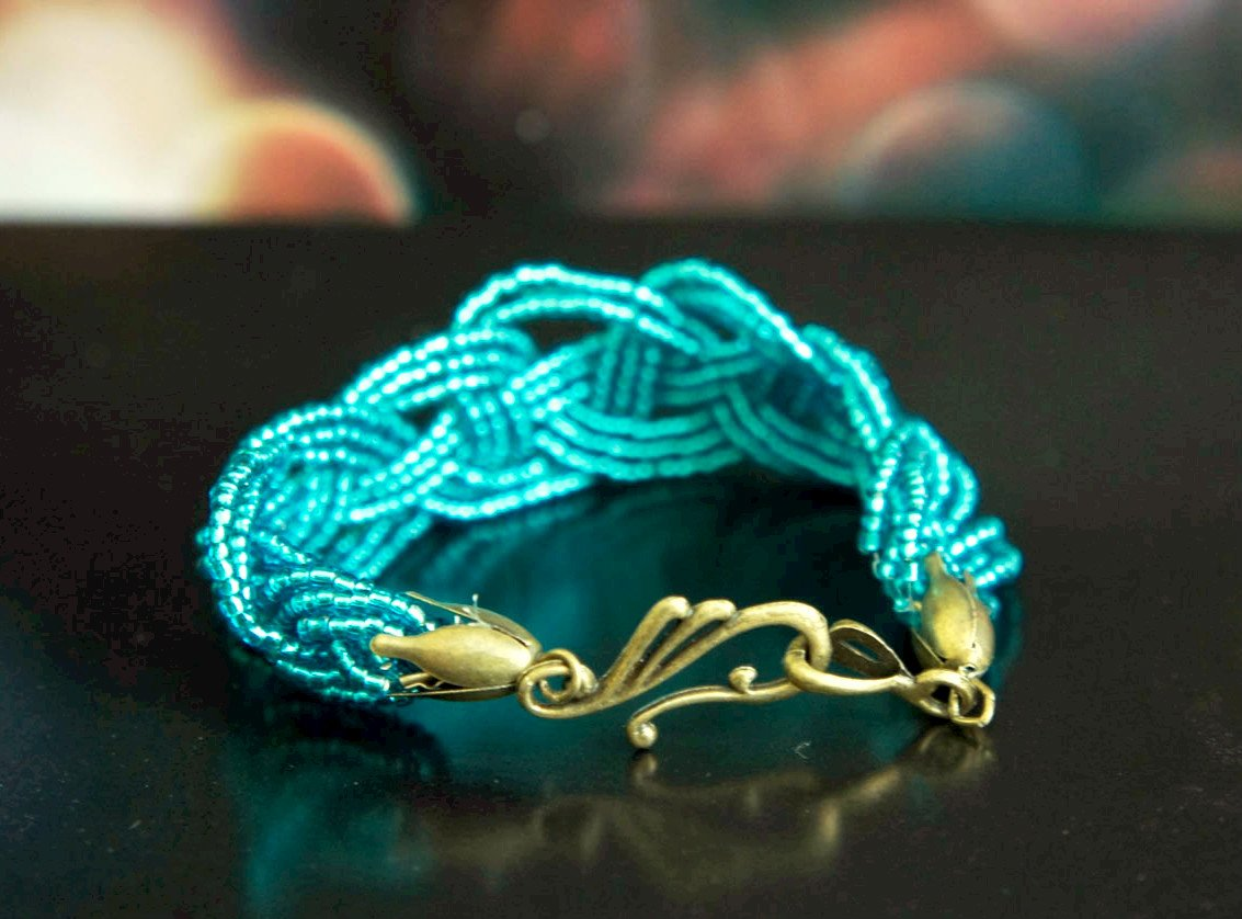 браслет кельтского плетения