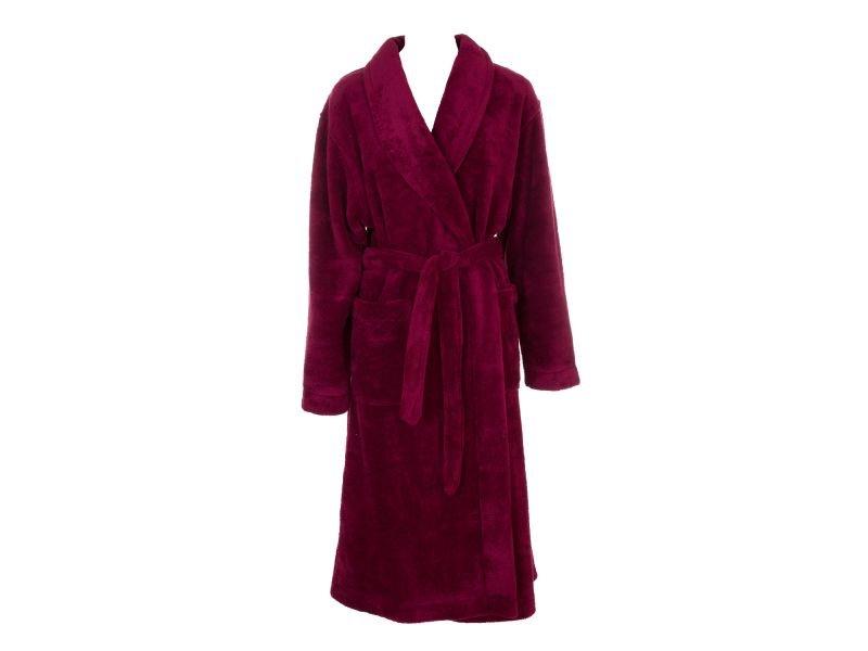 халат с запахом