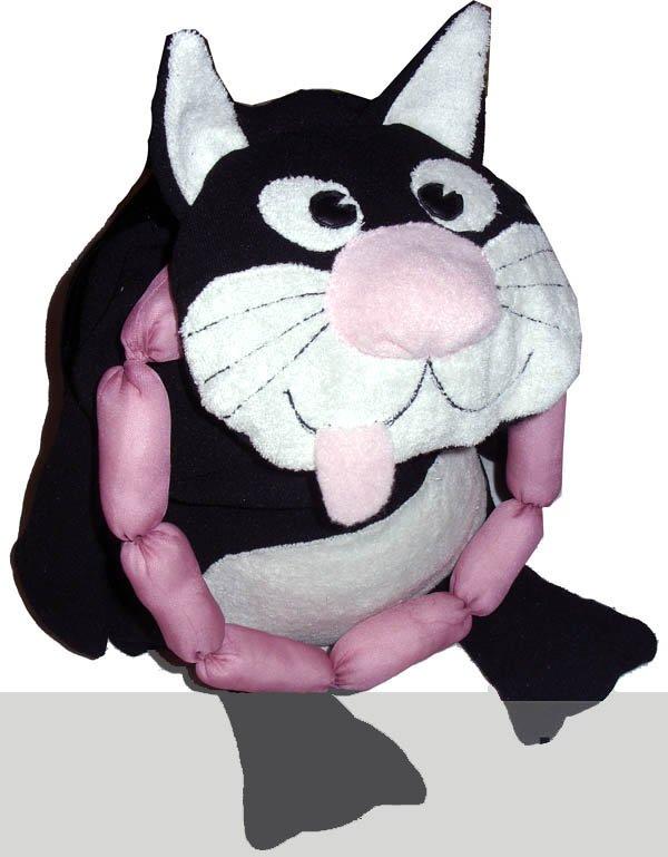 рюкзак Кот с сосиками