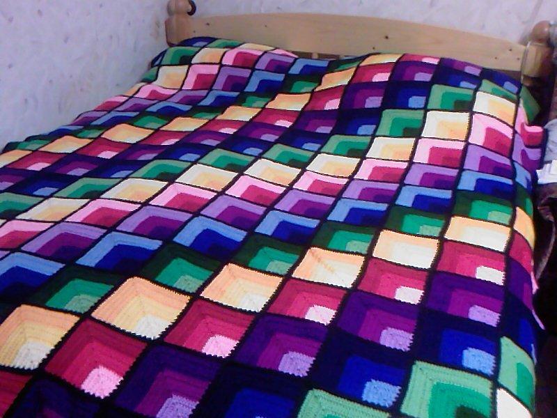 Вязать пледы и одеяла