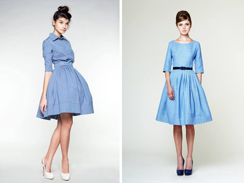 первая примерка платья