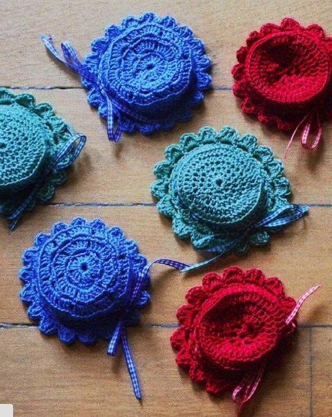 Вяжем крючком мексиканский коврик: фото, схемы, пошаговые инструкции