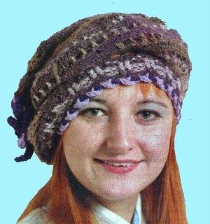 комплект шарф и шапка с пушистой отделкой