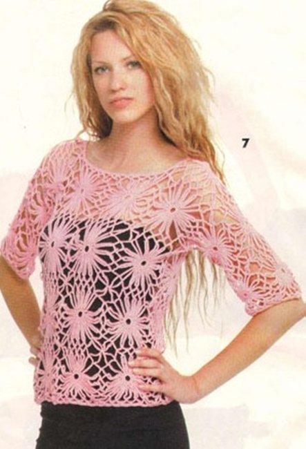 Акуратный пастельный пуловер