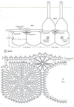 Схема вязания часть 2