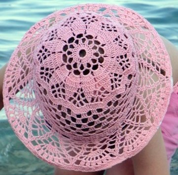 Летняя шляпка для девочки 2-х лет