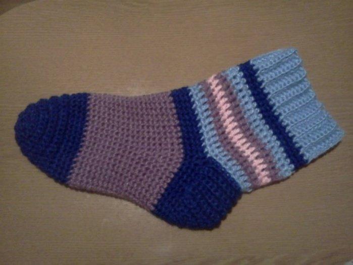 Носки для мальчика крючком