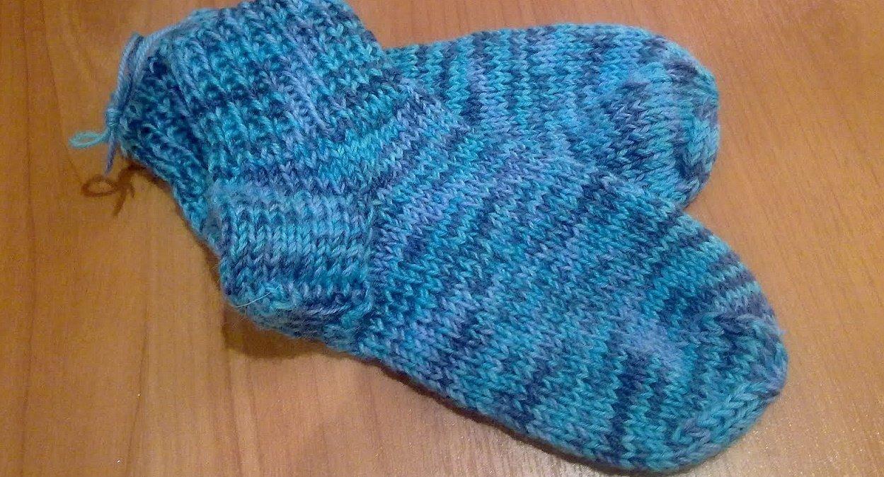 Меланжевые носки для мальчика