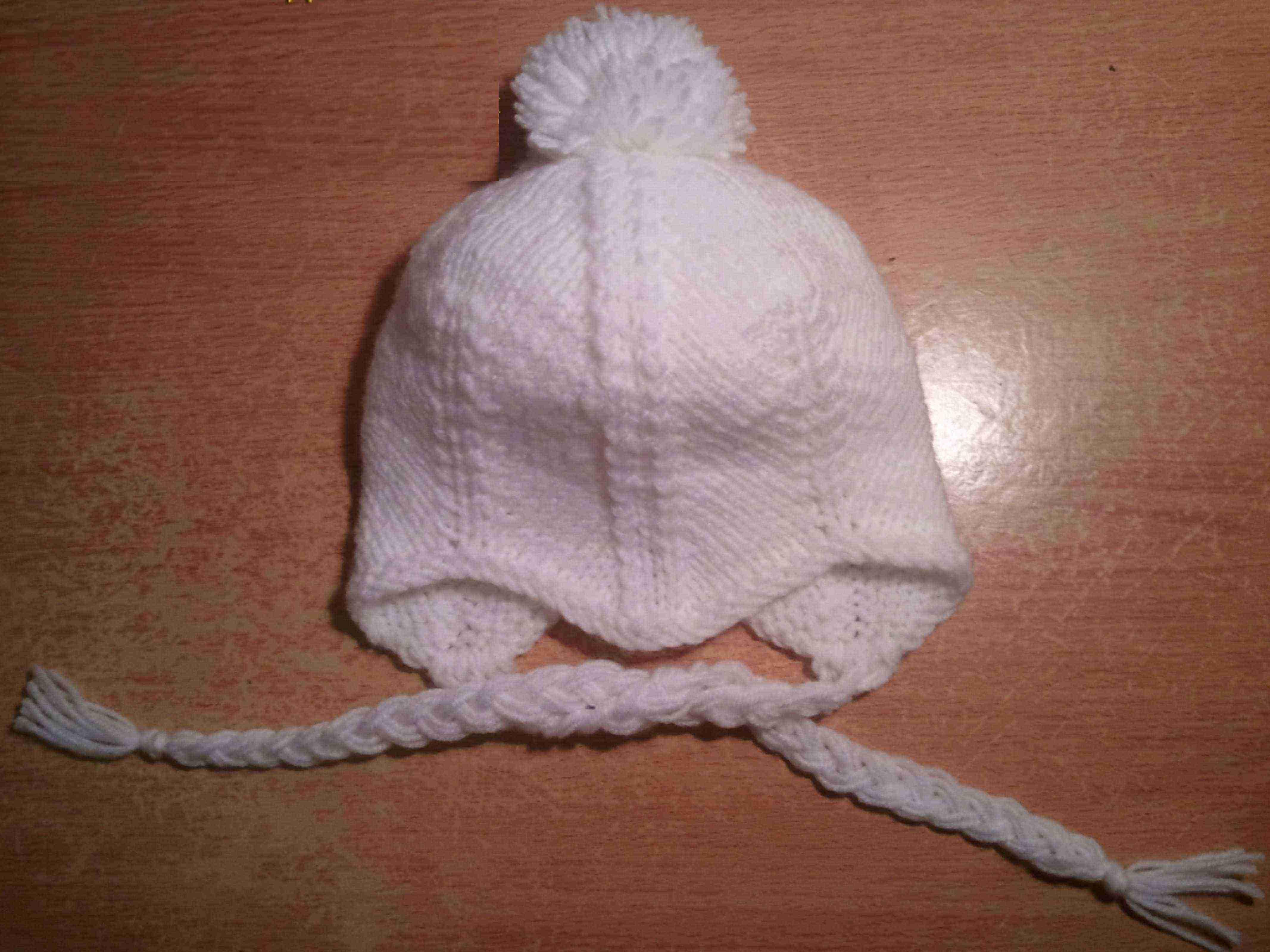 Мир Вязания: Вязание Спицами Мастер класс по вязанию шапочки для младенцев