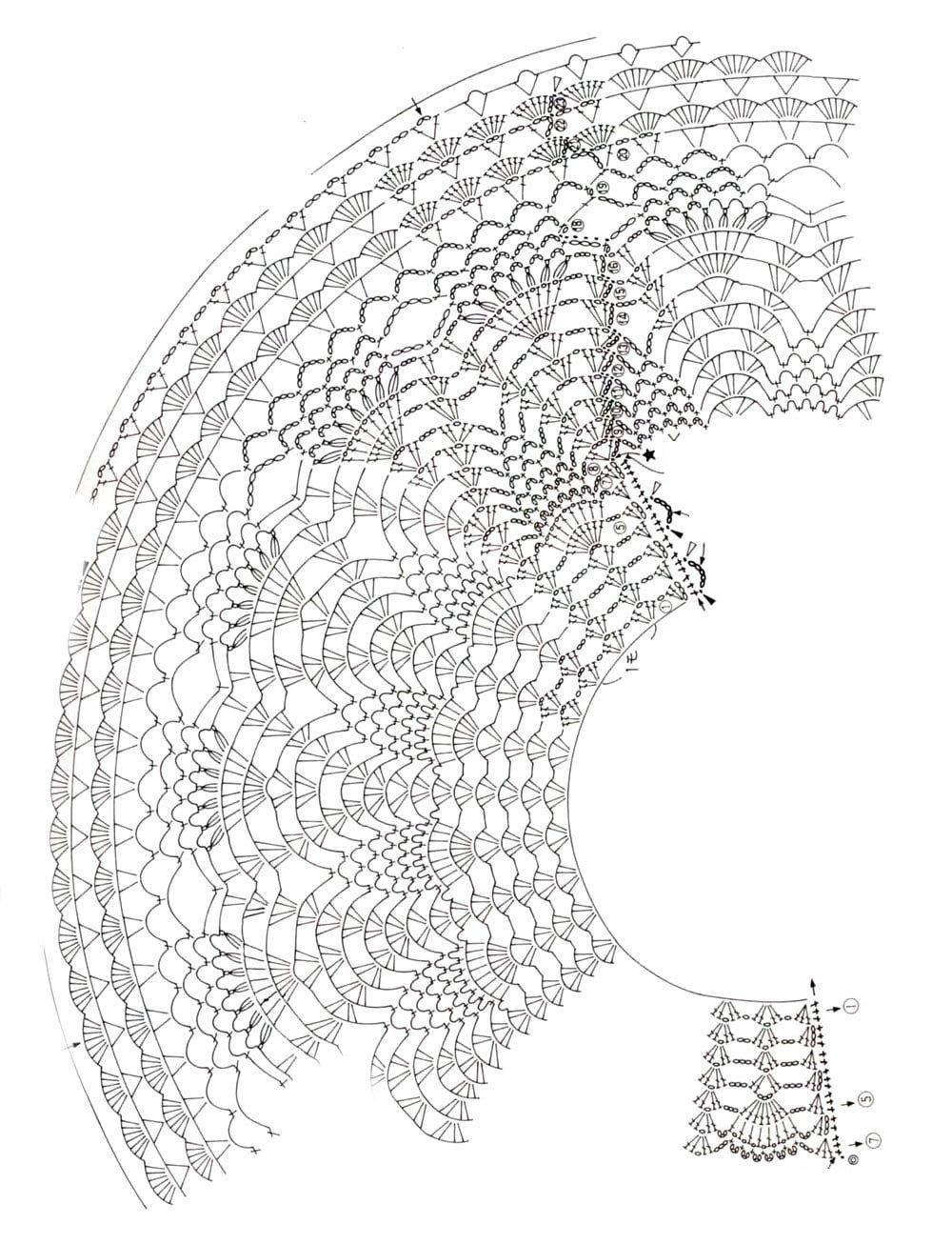 Вязание начального ряда крючком